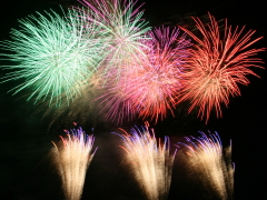 新町ふるさと祭り「花火大会・灯籠流し」8月16日(水)